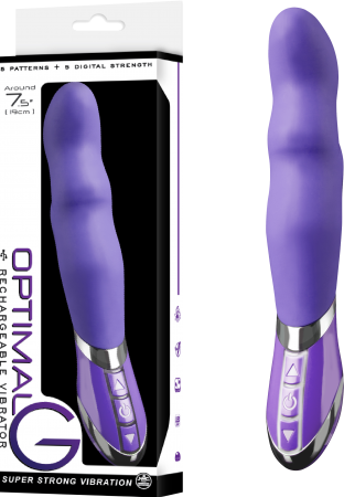 Optimal 'G' Rechargeable Vibrator (Lavender)