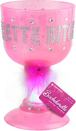Bitch Light-Up Pimp Cup (Pink)
