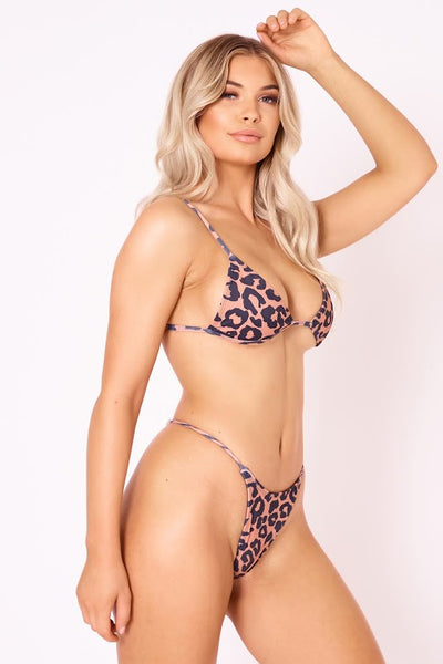 The Heatwave Thong - Leopard
