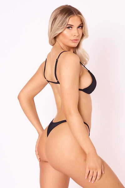 The Heatwave Thong - Black