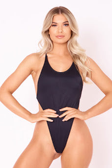 The High Tide One Piece - Black