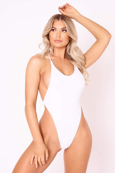 The High Tide One Piece - White