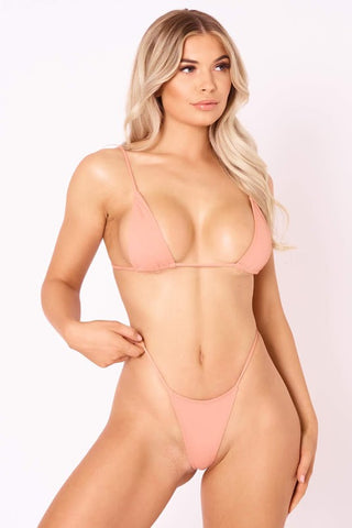 The Skinny Dip Thong - Honey Glow