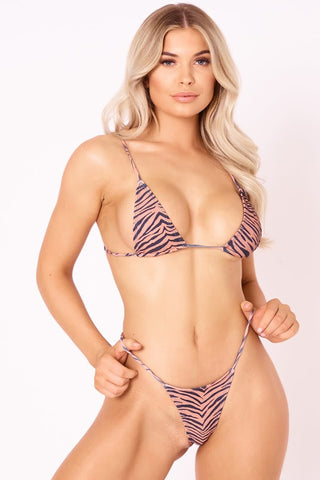 The Skinny Dip Thong - Tiger