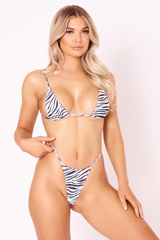 The Sun Stalker Top - Zebra