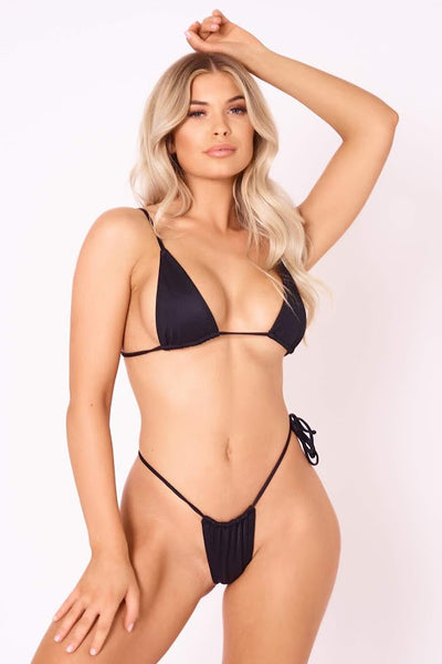 The Sun Stalker Thong - Black
