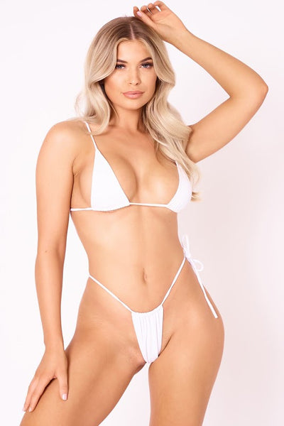 The Sun Stalker Thong - White