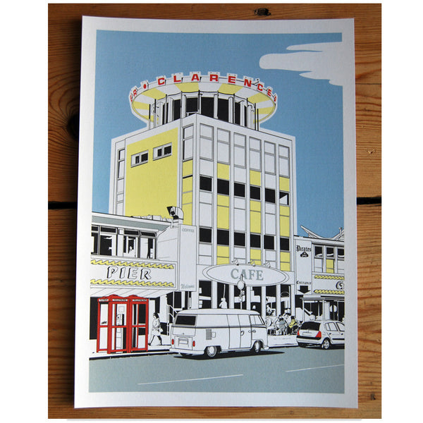 Clarence Pier print