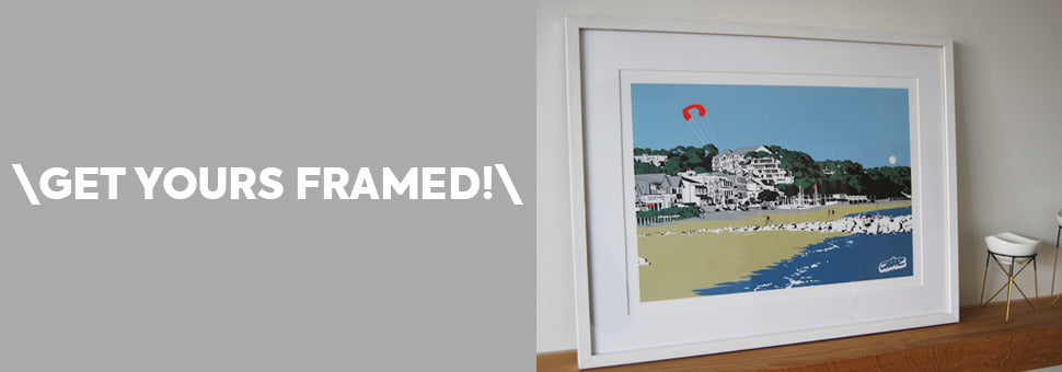 Get your JIMCdesigns artwork framed!