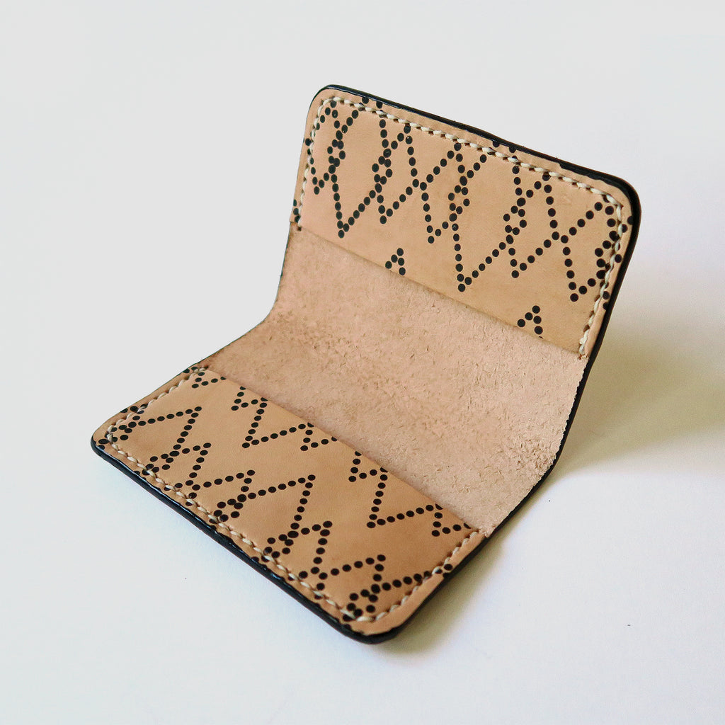 Hand-Stitched Leather Bifold Wallet - Canyon