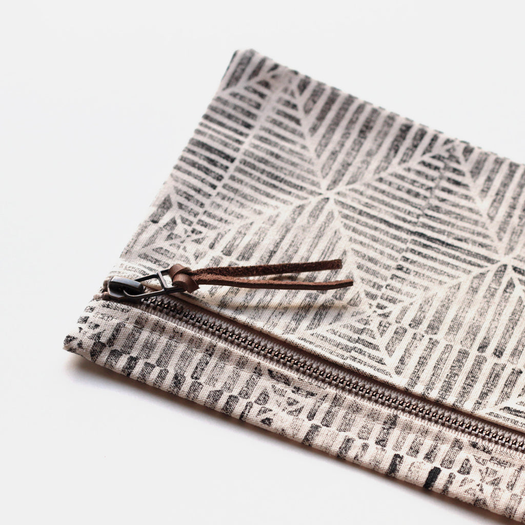 Large Zip Pouch 'East'
