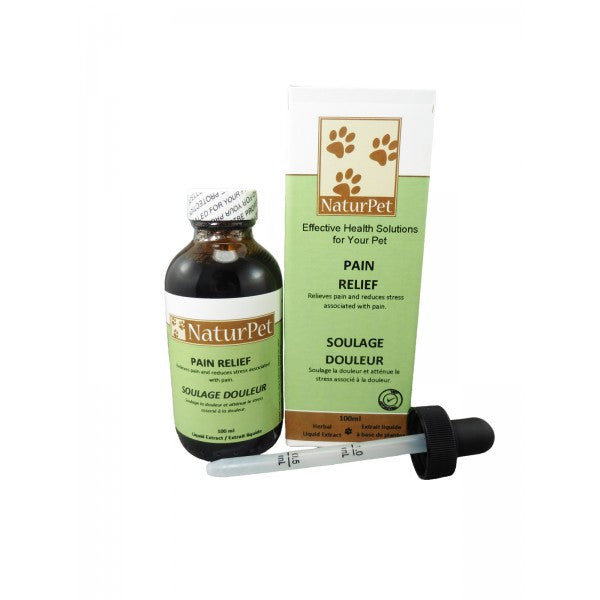 NaturPet Pain Relief For Dogs 100ml