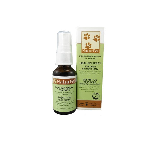 NaturPet Healing Spray For Dogs 10ml