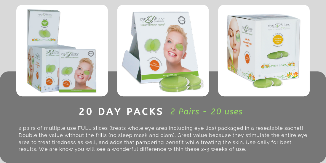 Choosing a Product - 20 Day Pack - eyeSlices