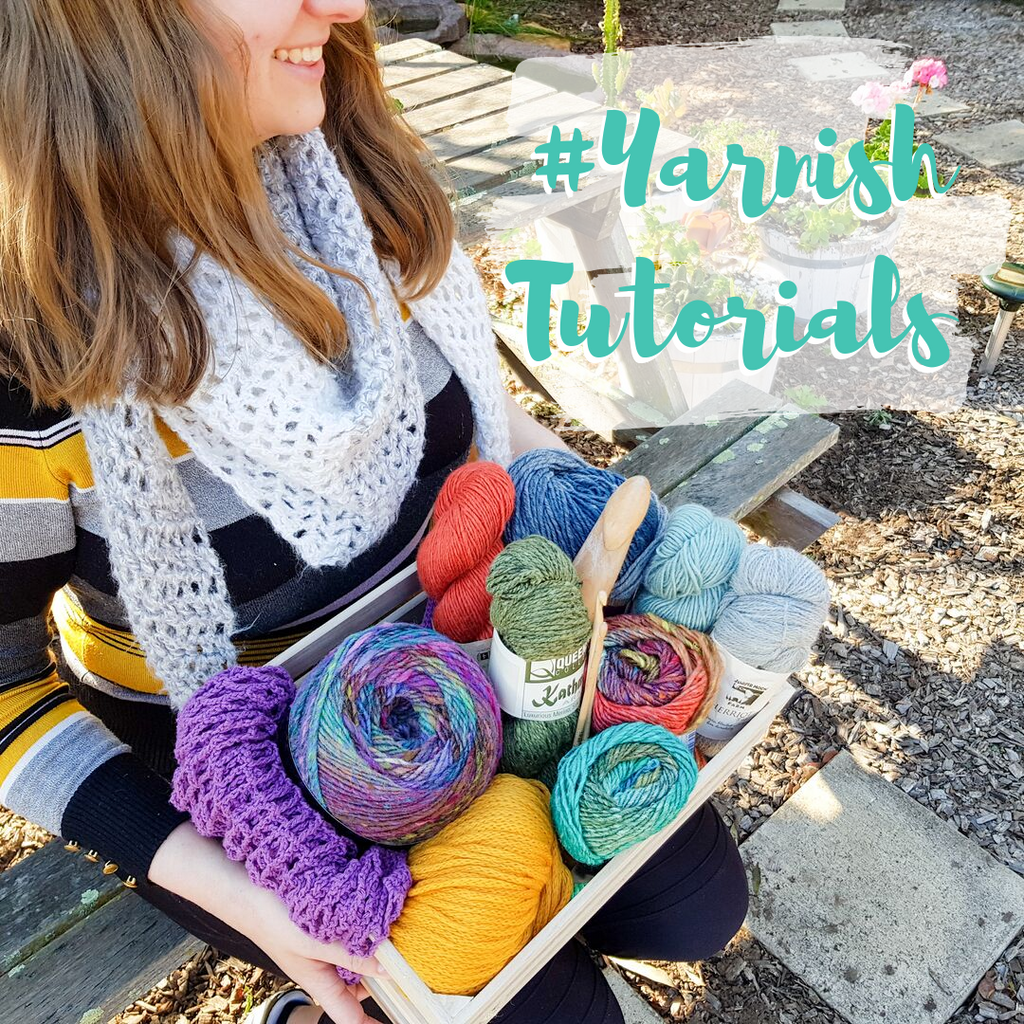 Yarnish Tutorials: All about that weight, 'bout that weight, no trouble!