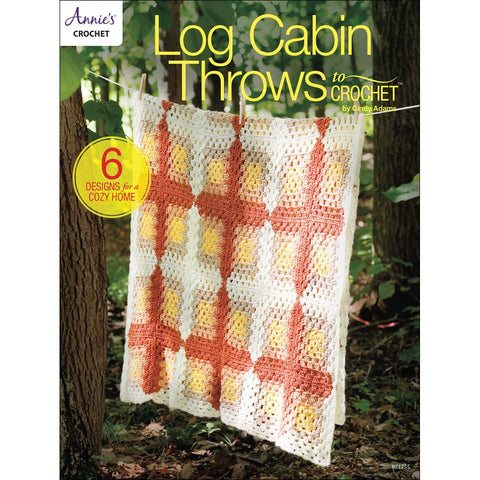 Log Cabin Throws to Crochet