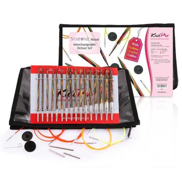 Knit Pro Symfonie Interchangeable Needles Deluxe Set
