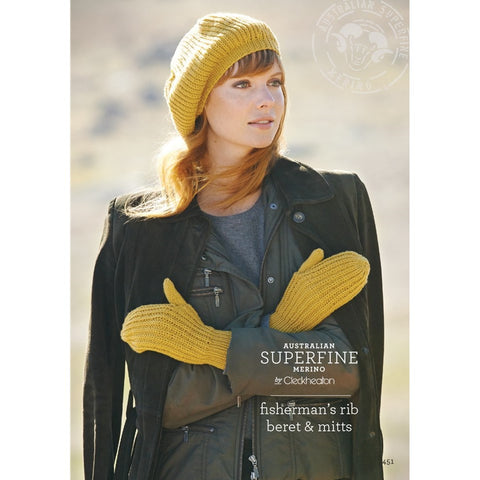 Fishermans Rib Beret and Beanie