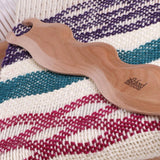 Ashford Stick Shuttle Wavy - Lacquered