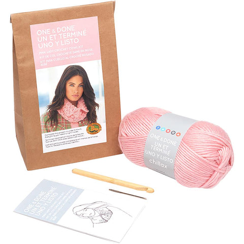 Lion Brand - One & Done Yarn Kit