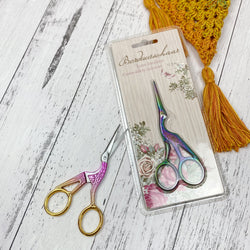 Luxe Stork Embroidery Scissors