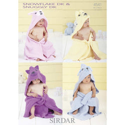 Sirdar 4541 - Hooded Towel / Blanket