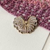 Magnetic Butterfly Brooch