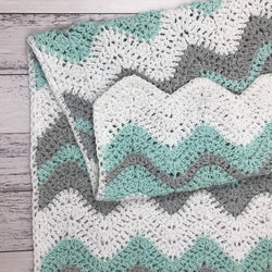Tripple Blanket by Nicole Vesterholm (PDF pattern only)