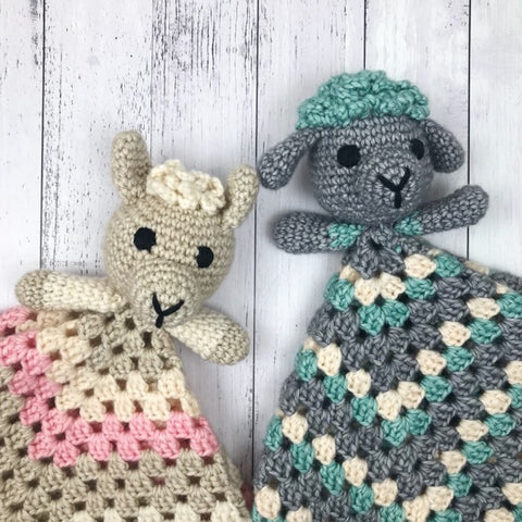 Yarnish Makes - Lambie & Llamie Lovies by Emma Wilkinson