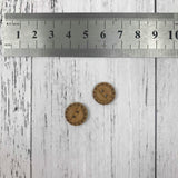 Natural Buttons - Mixed Sizes