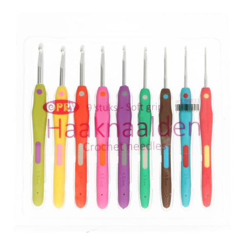 Opry Soft Handle Crochet Hook Set (2-6mm)
