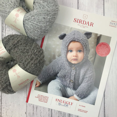Sirdar 5253 - Bear Ears Cardigan