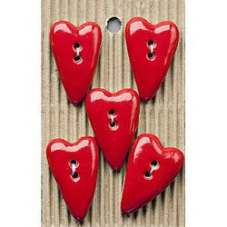 Button Card - L200 Folk Hearts