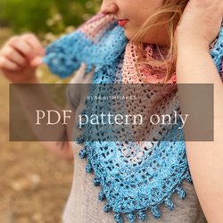 Day's End Wrap by Melody Tallon (PDF pattern only)