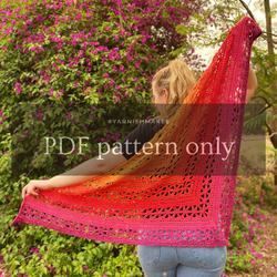 Aster Shawl by Mari Koeck (PDF pattern only)