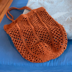 Yarnish Makes - Stowaway String Bag by Nicole Vesterholm