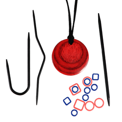 Knit Pro Magnetic Knitters Necklace Kit