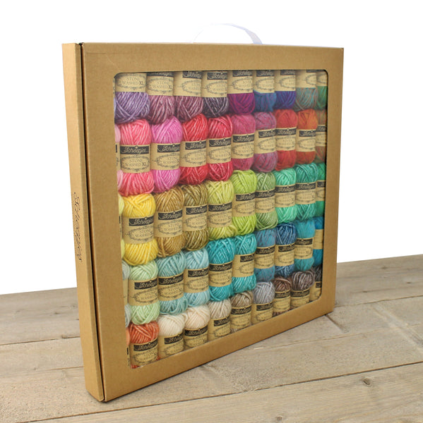 Scheepjes Stonewashed/Riverwashed XL Colour Pack - 50 x 15g balls