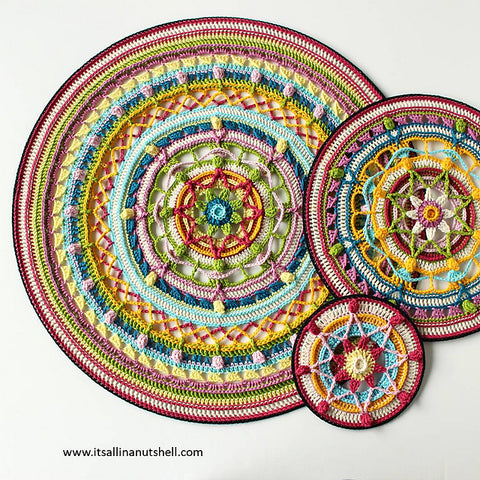 Trinity Mandala's MAL Kit (does not include pattern)