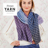 Yarn The After Party - 71 - Lavender Trellis Wrap