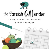 Yarnish Makes - CALendar 2021