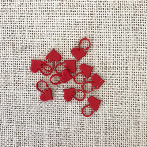 Addi Love Stitch Markers (10 pieces)