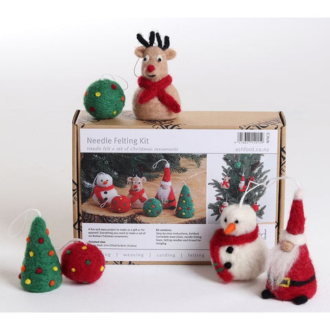 Ashford Needle Felting - Christmas Special