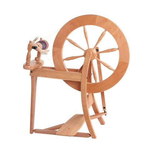 Ashford Traditional Spinning Wheel Double Drive - Lacquered - BACKORDER ETA 31 AUG