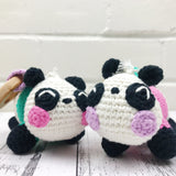 Yarnish Makes - Bei Bei & Su Lin the Panda Cubs by Reneé Ettia
