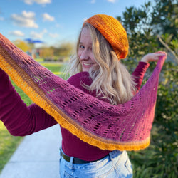 Yarnish Makes - Sigmoid Scarf & Beret by Fiona Langtry