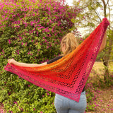Yarnish Makes - Aster Shawl by Mari Koeck