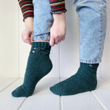 Yarnish Makes - Mullinger Socks by Fiona Langtry