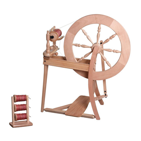 Ashford Traditional Spinning Wheel Single Drive - Natural