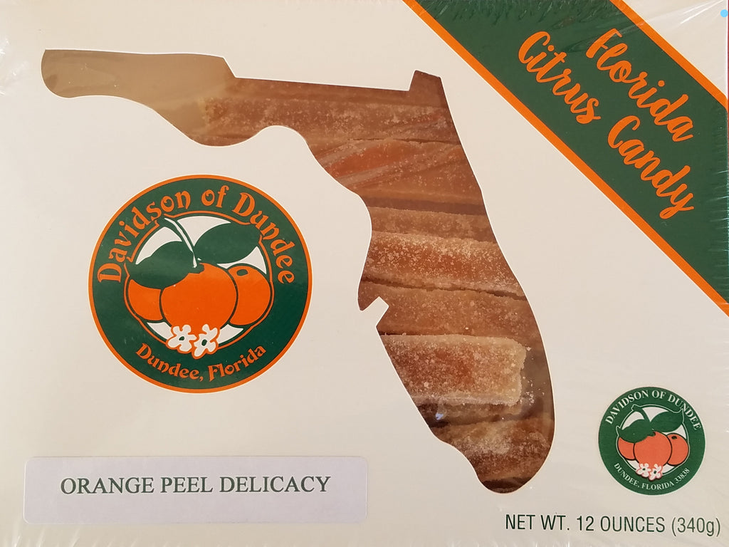 Orange Peel Delicacy 12 oz. - Florida Orange World